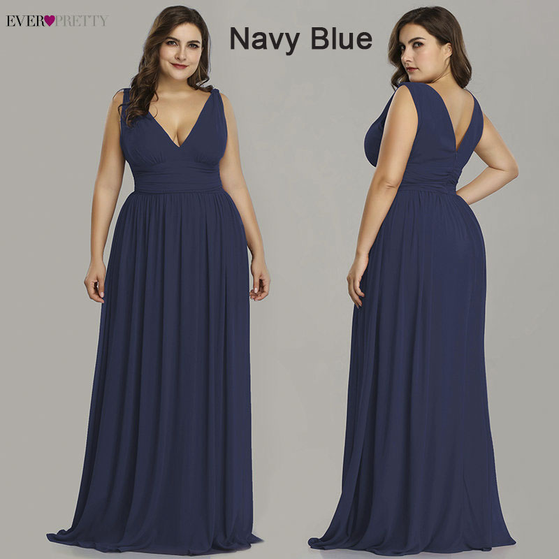 Ever Pretty Plus Size Bridesmaid Dresses 2019 Vestidos ...