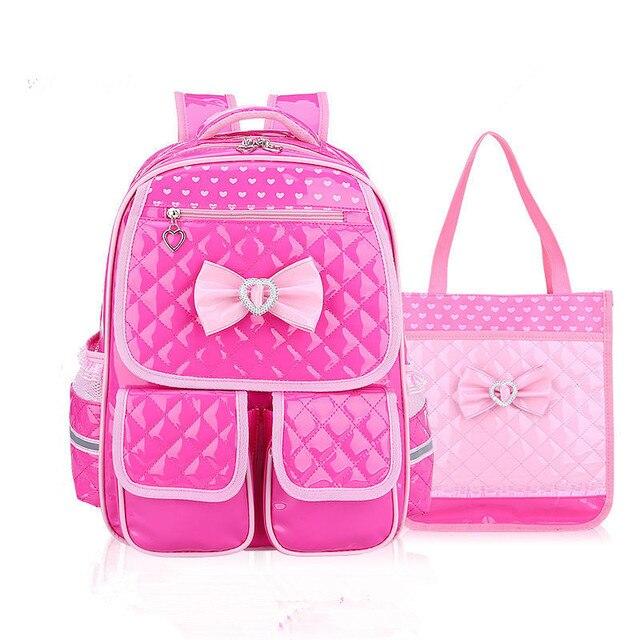 1e6c22a805 Impermeabile Bambini Scuola Borse Ragazze della scuola primaria Zaino set  Ortopedico Zaini Zaini Dei Bambini satchel