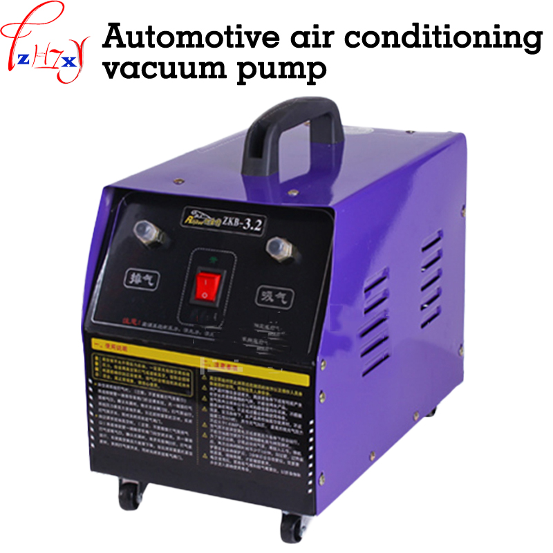 Automobile air conditioning vacuum pump 3.2L pump and vacuum pump vehicle refrigeration and maintenance tools 220V 250W 50Hz 220v 180w r32 r1234yf special new refrigerant vacuum pump single stage pump air conditioning and refrigeration tools v i125y r32