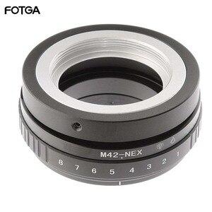 Image 1 - FOTGA Tilt Shift Adapter Ring für M42 Objektiv Sony NEX E Mount Kamera ILCE 7 A7S A7R II A5100
