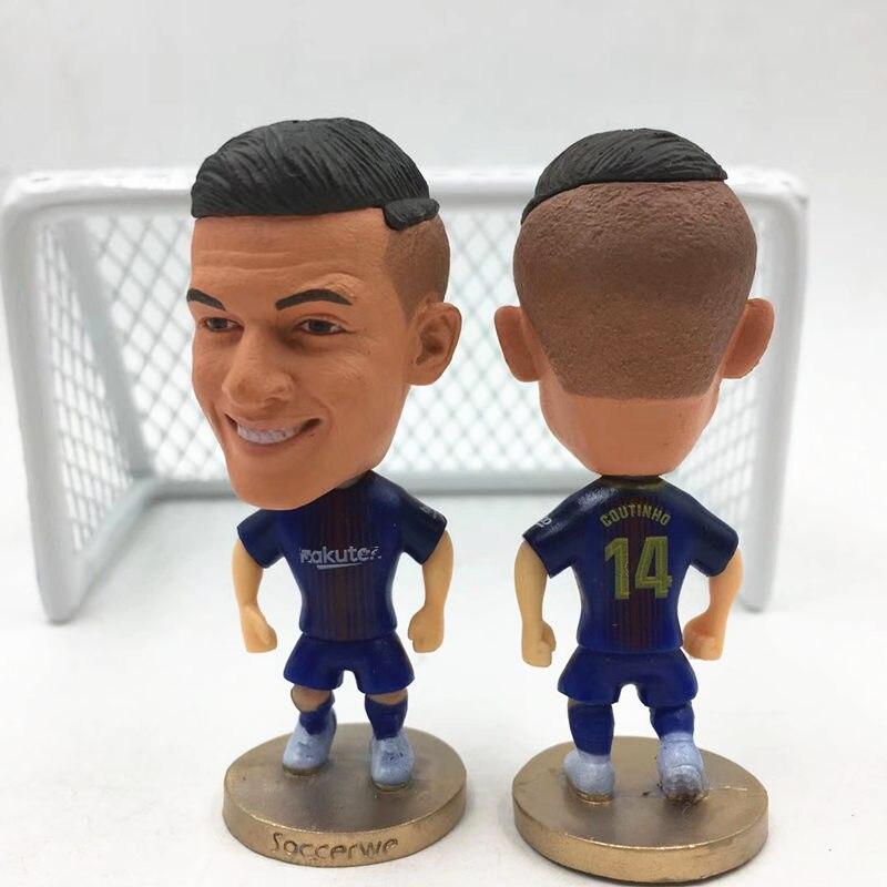 Dropwow Soccerwe Soccer Star Doll La Liga Messi Ronaldo Griezmann ... d5e16017a