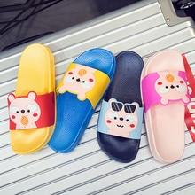 Cartoon Rainbow Boy Girl baby beach shoes Slippers Summer Kids slippers Outdoor Water girls Shoes New Sandals