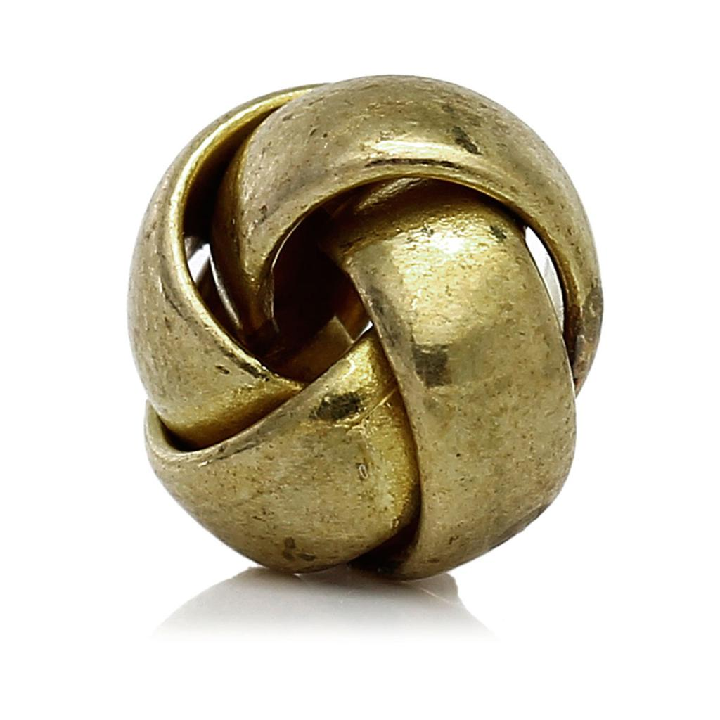 "DoreenBeads Brass Spacer Beads Ball Blank About 10mm( <font><b>3</b></font>/<font><b>8</b></font>"") <font><b>x</b></font> 10mm( <font><b>3</b></font>/<font><b>8</b></font>""), 10 PCs 2015 new"