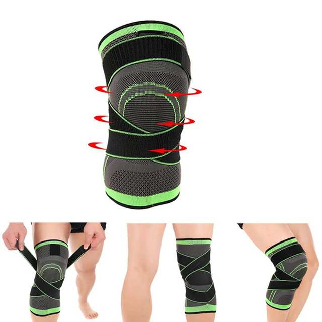 Men Women Knee Support Compression Sleeves Joint Pain Arthritis