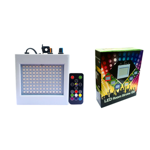 Image 5 - 108 LED Mixed Flashing Stage Lights Remote Sound Activated Disco Lights for Festival Parties Lights Wedding KTV Strobe Lights