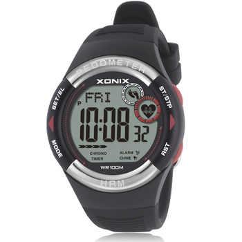 Mens Pedometer Calories Watch Heart Rate Monitor Sports Wristwatch Digital Running Women Outdoor Watch Unisex - DISCOUNT ITEM  15 OFF Watches