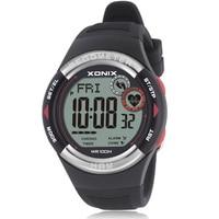 Reloj de pulsera deportivo con podómetro de hombre y mujer, pulsera Digital con Monitor de ritmo cardíaco y calorías para correr al aire libre, Unisex