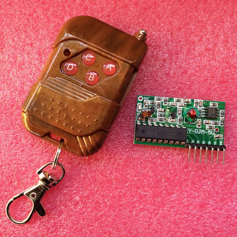 10set IC 2262/2272 4 CH 315Mhz Key Wireless Remote Control Kits Receiver module For arduino