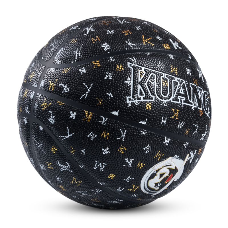 Kuangmi 2018 Black White PU Leather Basketball Ball NEW Youths Street Game Training Basketball Size 7 Indoor And Outdoor набор инструментов квалитет нир 104