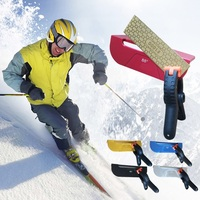 ALLSOME Ice Snowboard Side Edge Tuning Tool and Diamond Sharpener Ski Repair Edge Device Abrasive Tools HT505 509