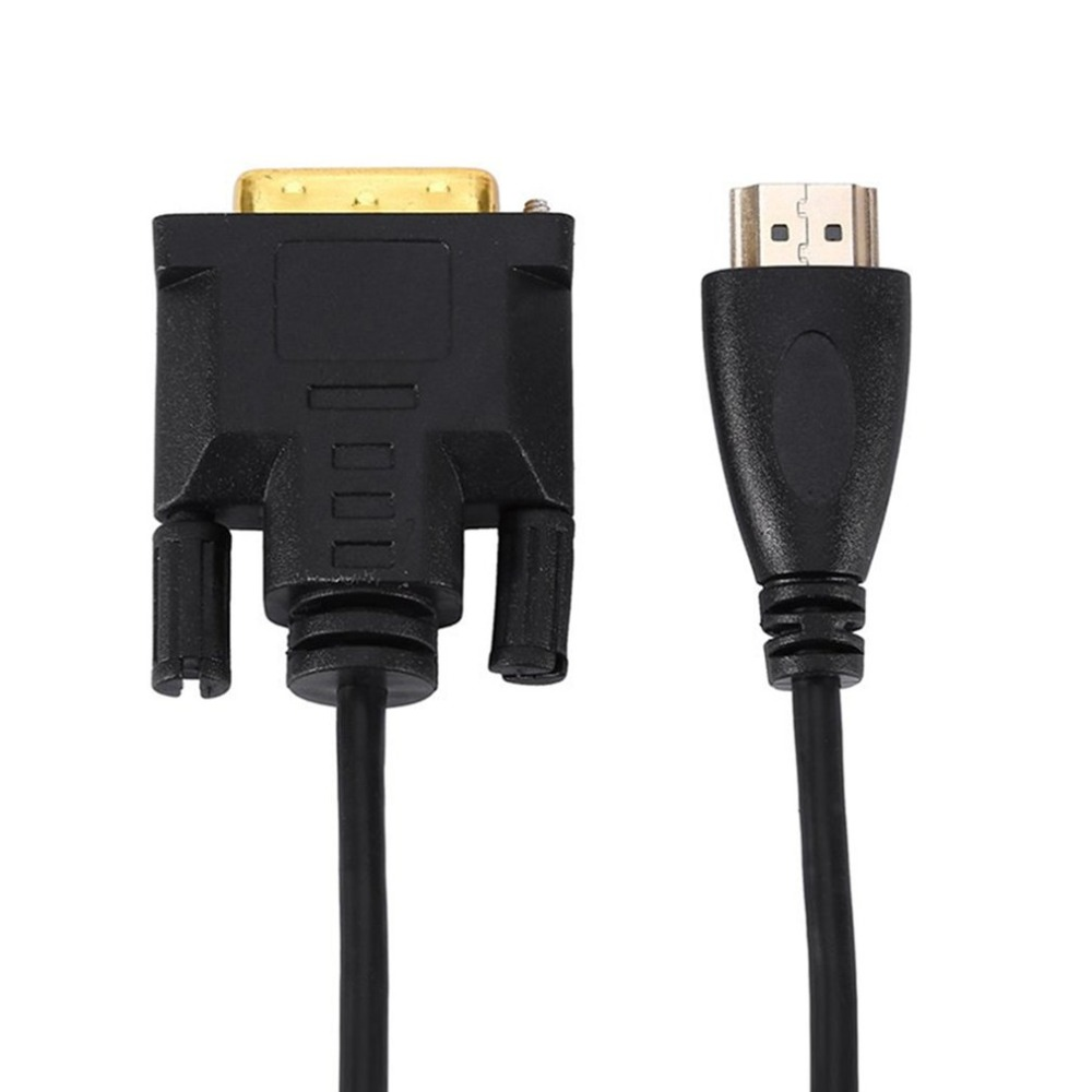 Image 4 - Ultra Slim HDMI Male to DVI 24+1 Male Adapter HD Video Cable Full HD 1080P for HDTV DVD Projector High Speed for Home Use-in Computer Cables & Connectors from Computer & Office