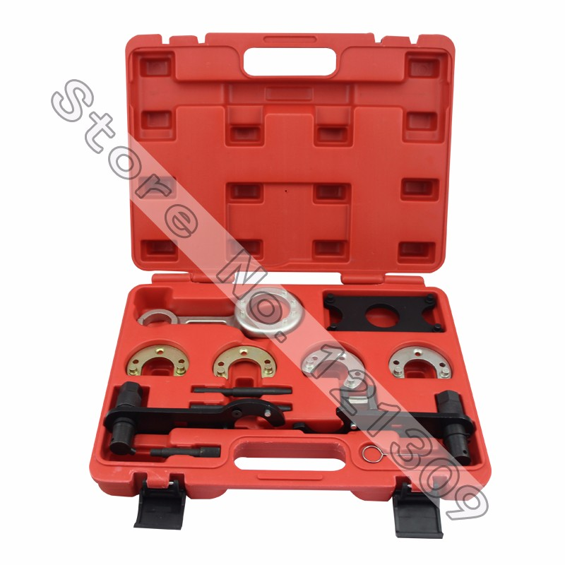 цена Engine Timing Tool Set for Freelander V6 Rover KV6 Rover Land Rover 2.0 2.5L Timing Camshaft Alignment Tool Special Belt Tool