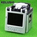 KELUSHI AI-6 SM & MM Automático FTTH Fibra Óptica Emenda Máquina Splicer Fusão de Fibra Óptica