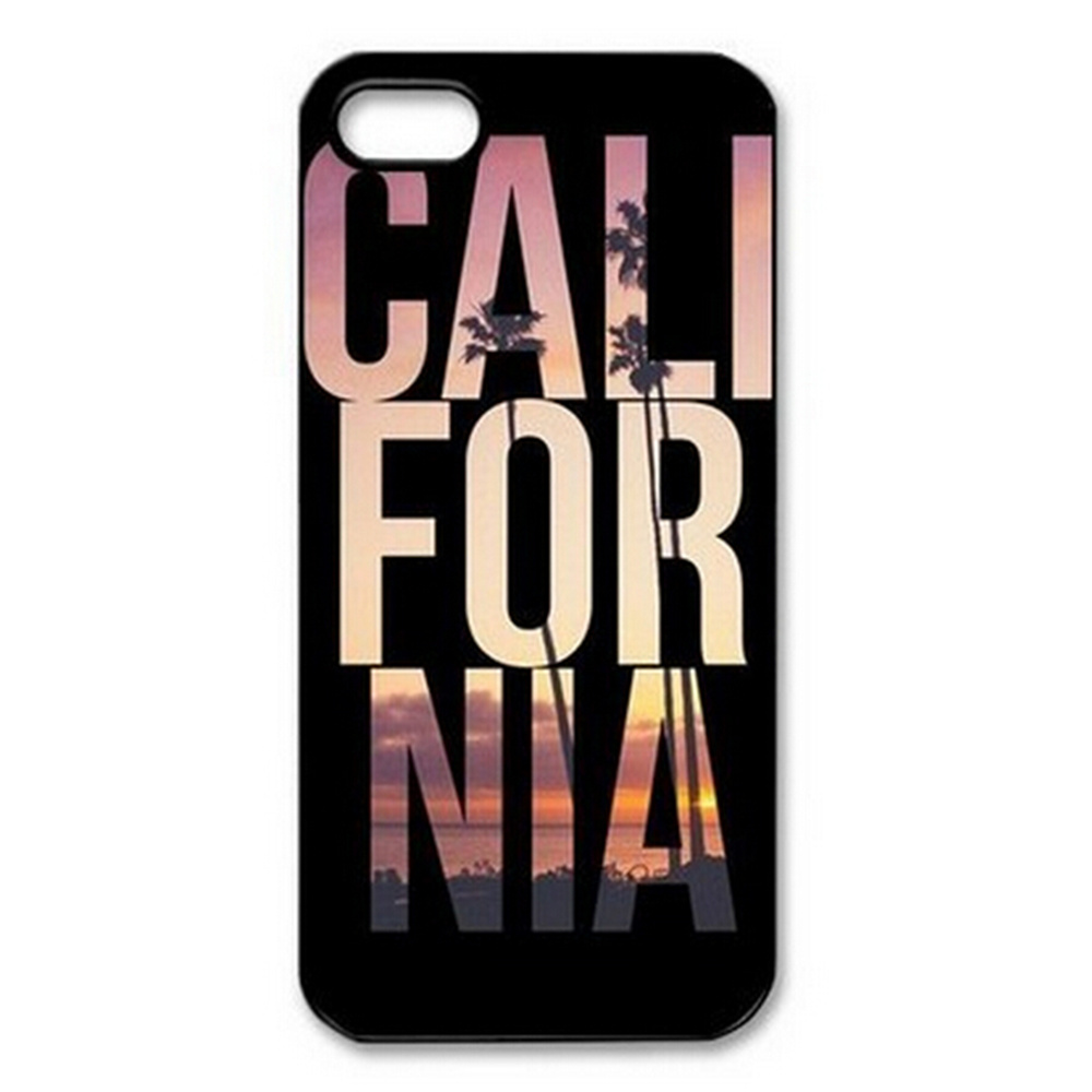 New California Slim Cool Design Hard Plastic Back Protective Case Cover For Apple iPhone 4 4S 5 5S SE 5C 6 6S 7 Plus