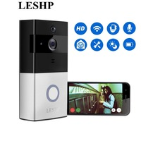 LESHP Wireless Video Doorbell 1080P WiFi Door Bell Two Way Talk Home Alarm Security HD 2