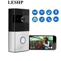 LESHP Wireless Video Doorbell 1080P WiFi Door Bell Two Way Talk Home Alarm Security HD 2