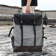 BGLN 1 ชิ้นแฟชั่น 4K สีเทาผ้าใบแบบพกพา Sketch ภาพวาด BOARD กระเป๋าเดินทางขนาดใหญ่กระเป๋าสะพาย Sketchpad วาดกระเป๋า