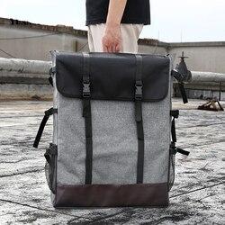 Bgln 1 peça moda 4 k luz cinza lona portátil esboço pintura placa de grande capacidade viagem ombro sketchpad desenho saco