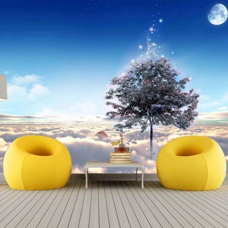 Hoge kwaliteit groothandel gras muur papier van chinese gras muur papier groothandelaars - Blauwe hemel kamer ...