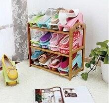 5pcs/lot Creative Home Furniture Adjustable 2 Layer Shoe Rack Organizer Holder Portable shoe Storage Shelf for Shoes Space Saver цены онлайн
