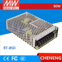MEAN WELL 5V 6A +24V 2A +12V 1A 90 Watt RT 85D 85W 110V 220V AC DC Triple Output drive Switching Power Supply SMPS 3 Road