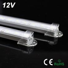 YNL LED בר אור 12v 50cm 7W LED צינור אור 12V SMD 5730 מנורות קיר קר לבן מנורת ניאון אור