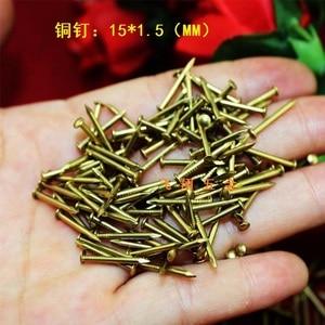 500PCS brass cross with flat head screws 1.5mm**15mm(China)