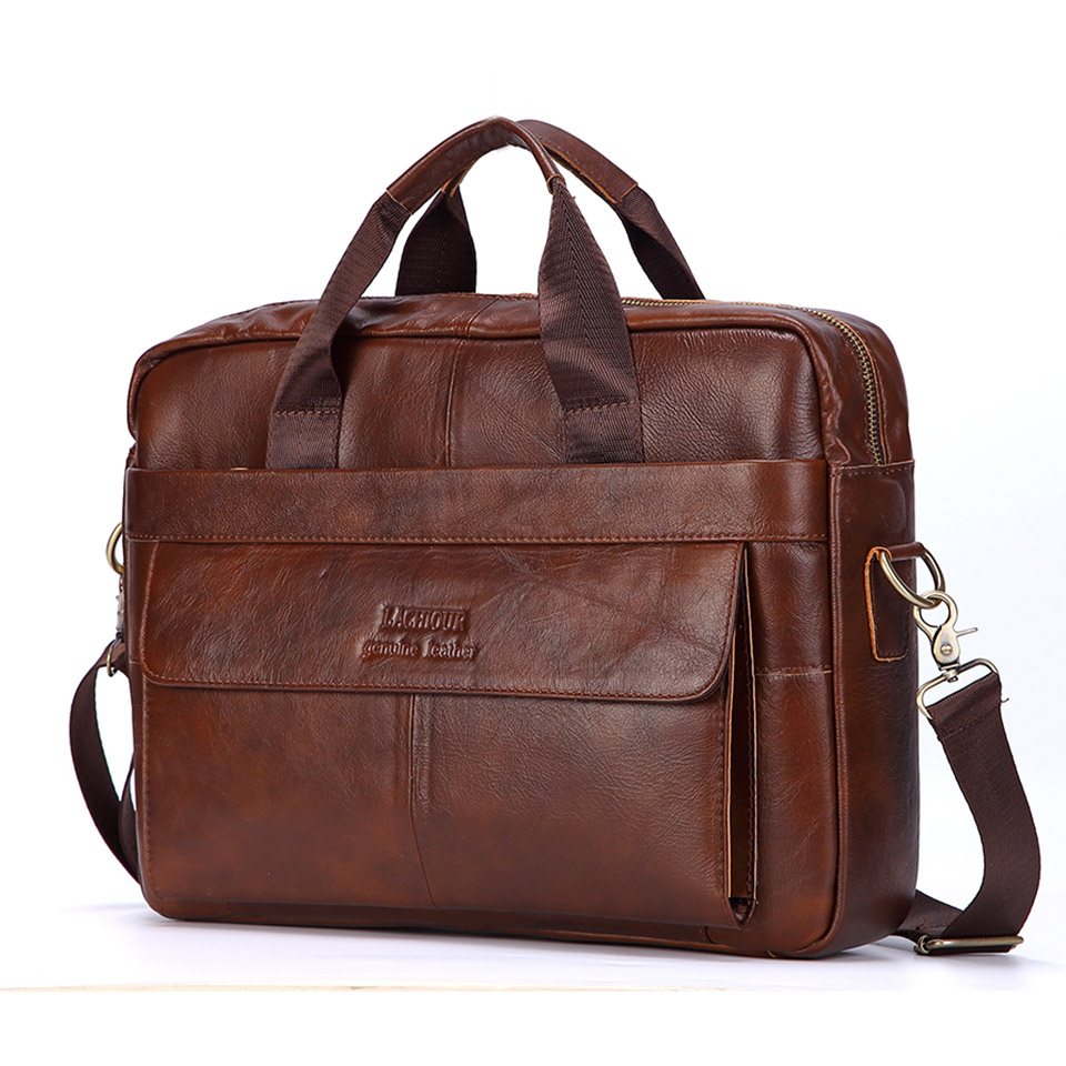 Men Genuine Leather Handbags Casual Leather Laptop Bags Male Business Travel Messenger Bags Mens Crossbody Shoulder BagMen Genuine Leather Handbags Casual Leather Laptop Bags Male Business Travel Messenger Bags Mens Crossbody Shoulder Bag