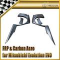 New Car Styling For Mitsubishi Evolution EVO 8 9 VTX Cyber Carbon Fiber Rear Over Fender