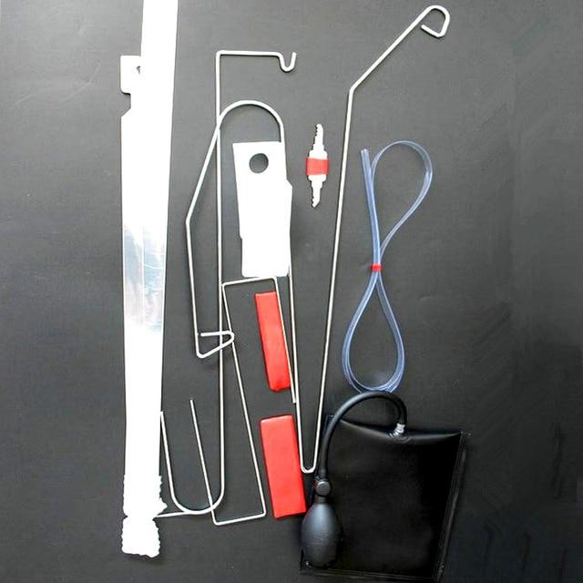 Universal Emergency Open Unlock Tool Kit Car Door Key Lost Lock Out + Air Pump & Universal Emergency Open Unlock Tool Kit Car Door Key Lost Lock ...