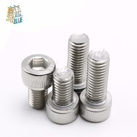 180pcs M3 6 8 10 12 16 20 Stainless Steel Hex Socket Head Cap Screw M3