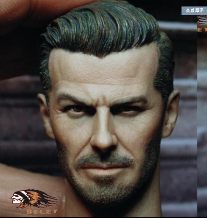 Custom made david beckham 1//6 figure HEAD ONLY instock