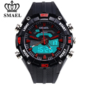 SMAEL New Brand Fashion Watch Men S Style Waterproof Sports Military Watches Shock Luxury Analog Digital Sports Wrist Watches