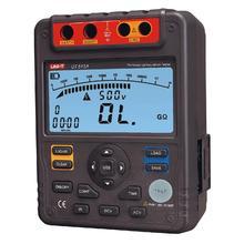 UT513A เครื่องทดสอบความต้านทานฉนวน 5000 V ช่วงอัตโนมัติดิจิตอล Megohmmeter จัดเก็บข้อมูล Polarization Index Backlight