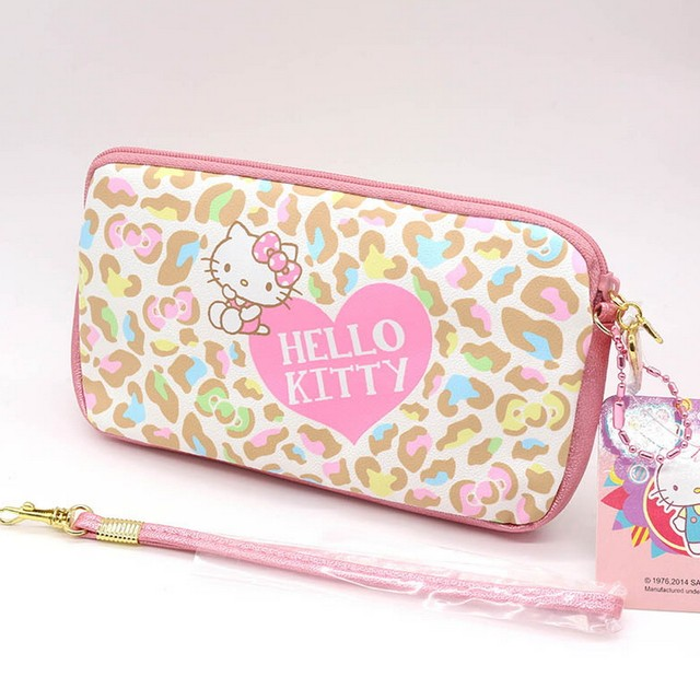 Online shop business hello kitty cartoon passport cover package high business hello kitty cartoon passport cover package high quality pu business card holder can also put mobile phones reheart Choice Image