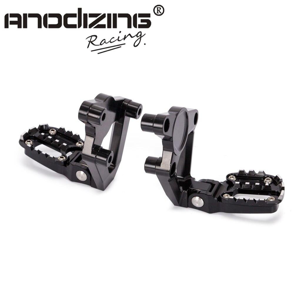 Motorcycle Folding Rear Set Footrest Foot Pegs Pedal Passenger Rearsets For HONDA X ADV X-ADV 300 750 1000 2017 2018 XADV