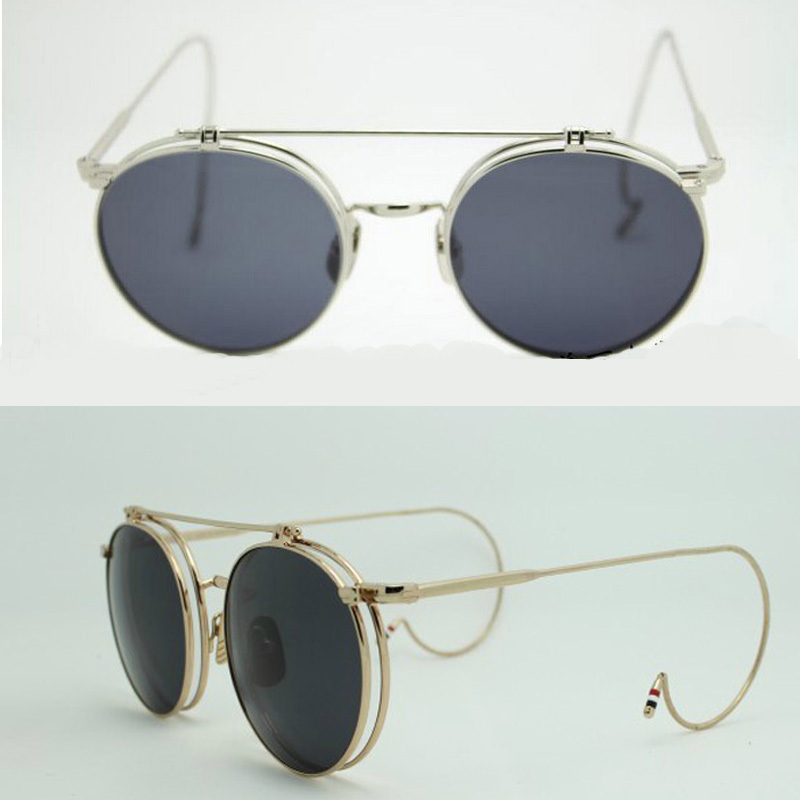 40f6de42520d New good ORIGINAL QUALITY Thom browne tb001 vintage classic sunglasses -in  Movie   TV costumes from Novelty   Special Use on Aliexpress.com