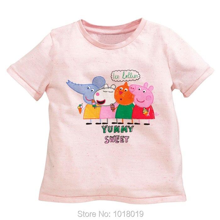 New 2018 Brand Quality 100 Cotton Summer font b Baby b font Girls t shirt Children
