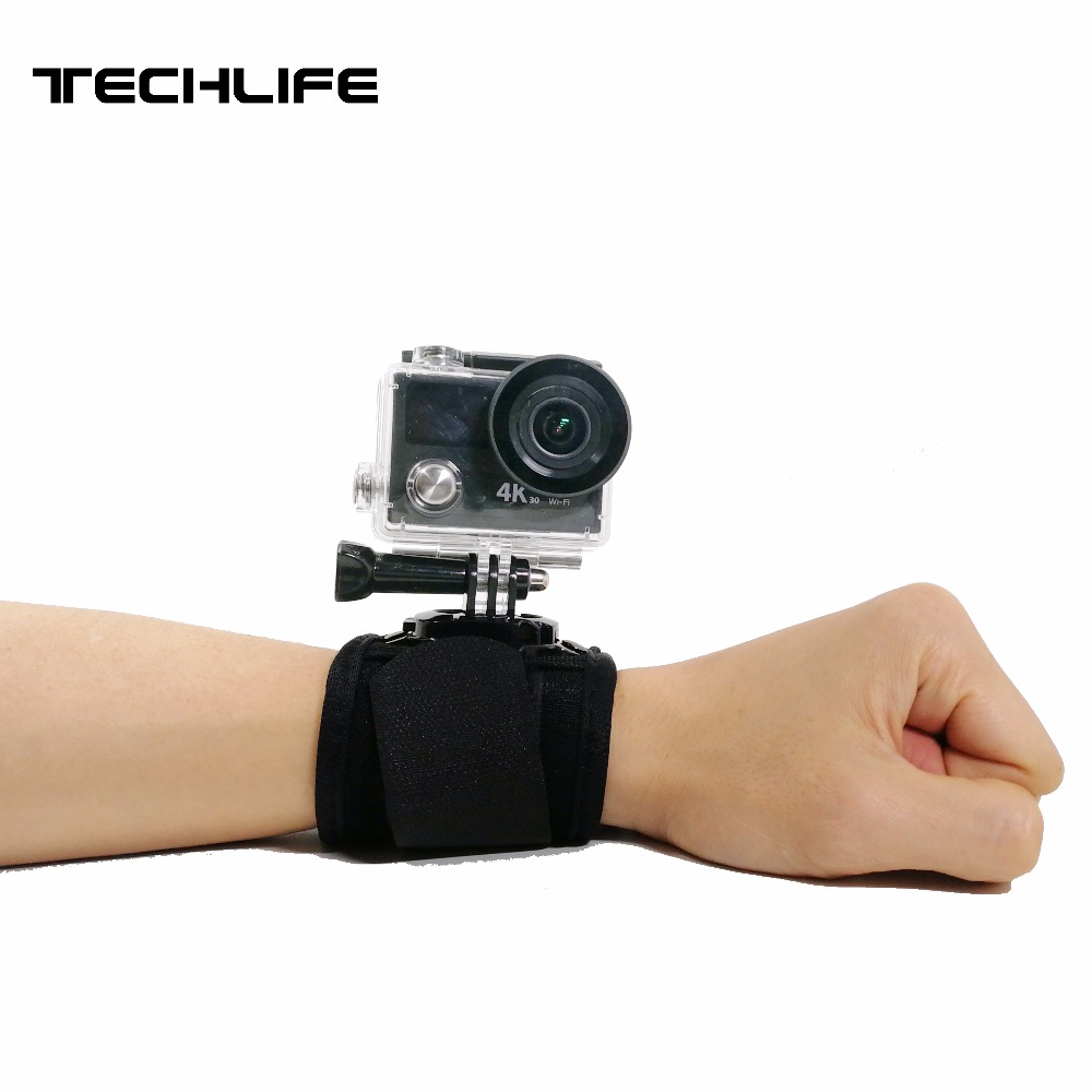 360 Degree Rotation Hand Wrist Strap For Gopro Hero 5 4 xiaomi 4k Hand Band Belt For Go pro SJCAM SJ4000 sport Action Camera neopine hs 3gery nylon wrist band strap for digital cameras gopro hero black grey 27cm