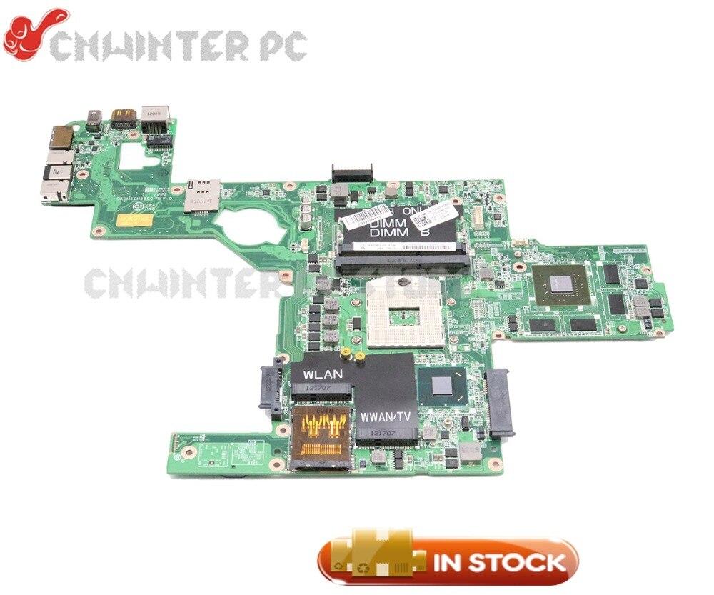 Материнская плата NOKOTION DAGM6CMB8D0 CN-0C47NF 0C47NF для ноутбука Dell XPS 15 L502X, материнская плата HM67 DDR3 GT525M 1 Гб