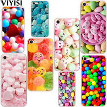 Colored Candy For Apple iPhone X XS MAX XR IPhone 7 case 8 6 6S Plus Cover 5 5S SE Phone Case Soft TPU Silicone Back Coque Shell цены