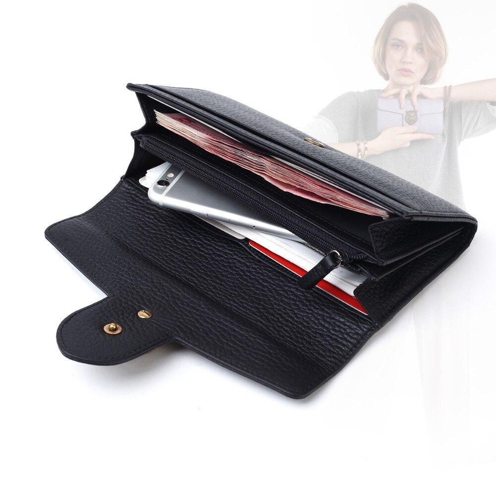 cartão de longo carteira senhora Capacidade OF Wallet : Money, bill, cell Phone , coin Pocket