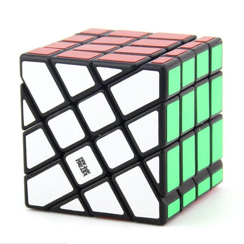 MoYu Caas Chaude Roue 4x4x4 Profilé Classique Magic Speed Puzzle Cube Hot Wheel Carré Roi Cube cubos Magicos D'apprentissage Enfants Jouets