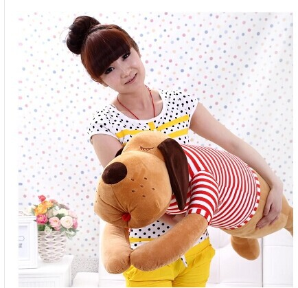 about 120cm lying dog plush toy dog doll throw pillow originality birthday gift w5250 models own лак для ногтей cream sticky fingers pow red models own