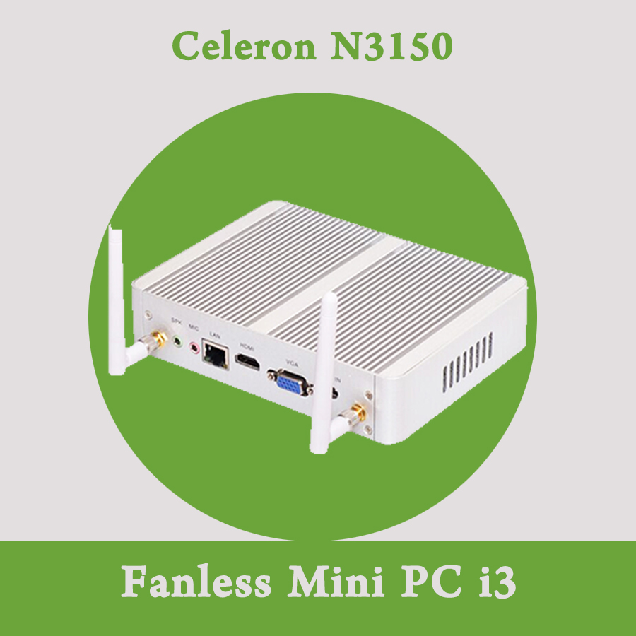 Mini PC Celeron N3150 Quad Core 1 6 2 08GHz VGA HDMI Cheapest Small Computer