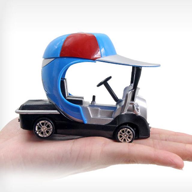 Coche eléctrico Del RC Escala 1:43 Modelo de Coche de juguete de Control Remoto Carro de Golf Buggy