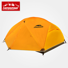 Spring and summer limit series water-proof and free breathing double layer camping hiking tent ultra-light