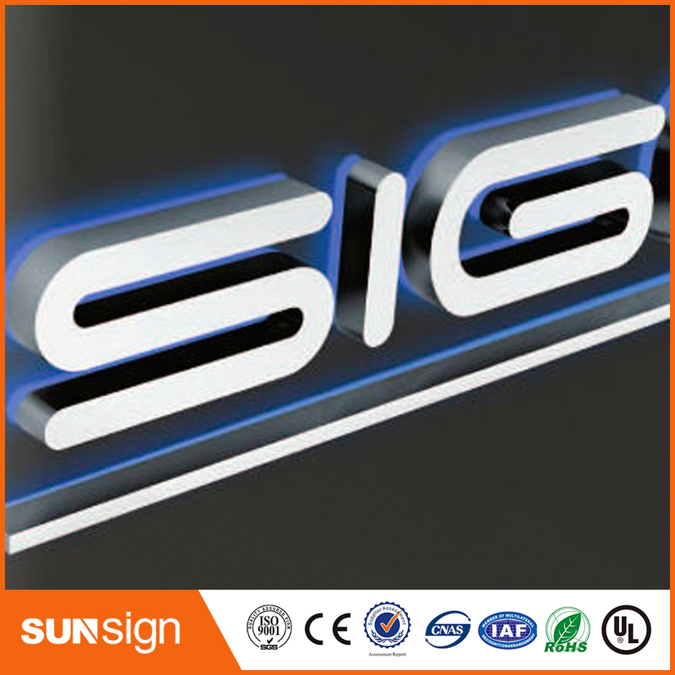 Wholesale 3D Mini Acrylic Luminous Alphabet Led Letter