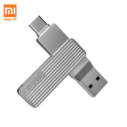 Xiaomi JESIS Type-C USB Dual Interface Mobile Phone U Disk M1 360 Rotation Aluminum Alloy Material 120MB/S Can Use APP