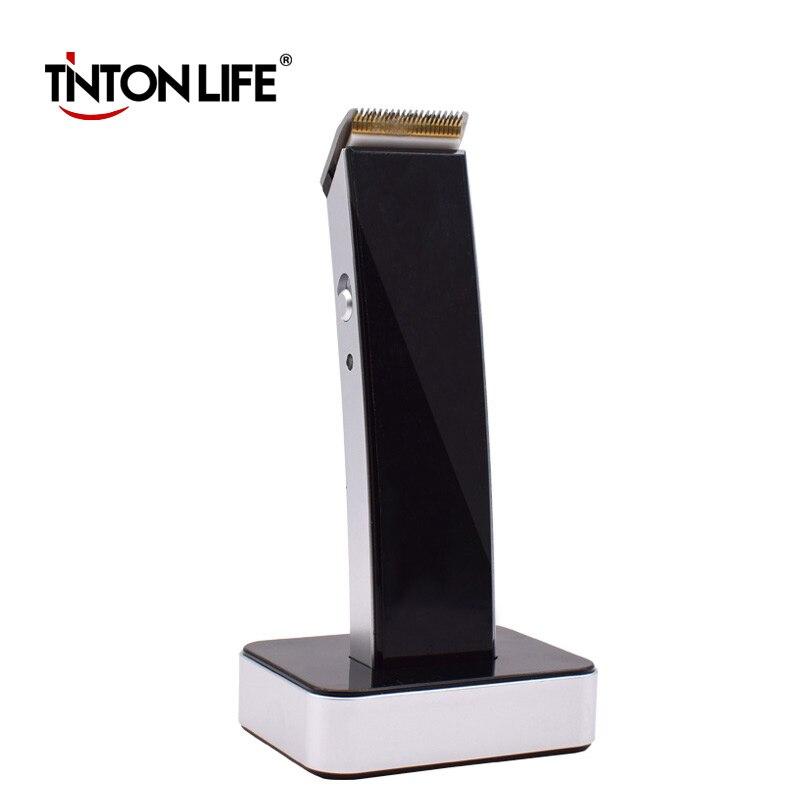 Ev Aletleri'ten Elektrikli Traş Makineleri'de TINTON yaşam erkekler elektrikli tıraş makinesi Razor sakal saç kesme giyotin bakım saç kesimi 220 240V saç düzeltici profesyonel kesici title=